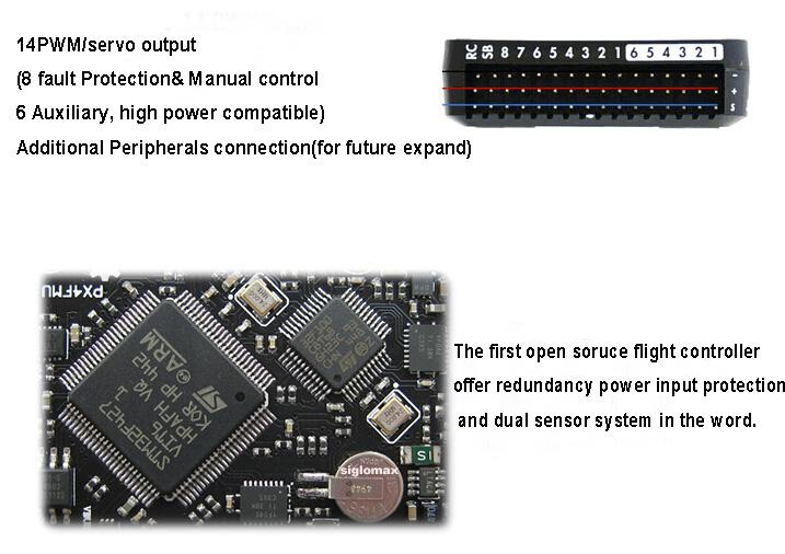 High-quality Pixhawk2 4 6 with NEO M8N GPS - Radio-Control